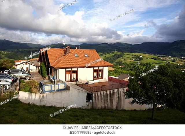 Cider house, Aduna, Gipuzkoa, Euskadi, Spain