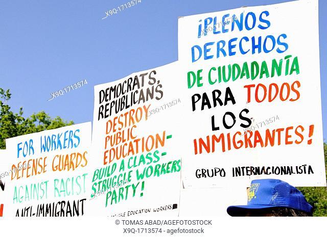 May 1, 2012, Occupy Wall Street, Manhattan, New York City