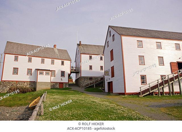 Buildings at the Ryan Premises, a National Historic Site since June 24, 1997, in the town of Bonavista, Bonavista Peninsula, Bonavista Bay, Discovery Trail