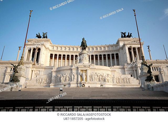 Italy, Lazio, Rome, Vittoriano, Altare della Patria