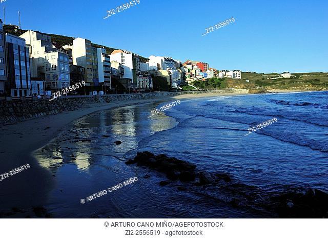 Beach Mayor. Malpica de Bergantiños, La Coruña, Spain