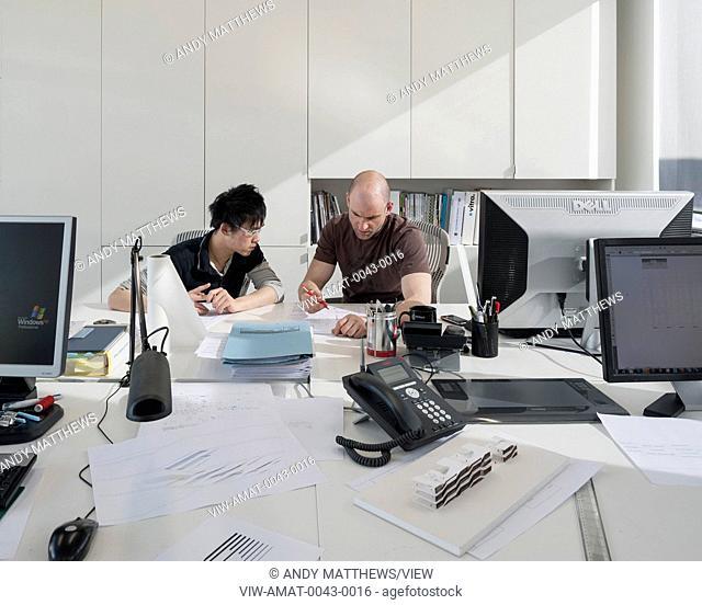 Studio of award winning architecture team Moxon