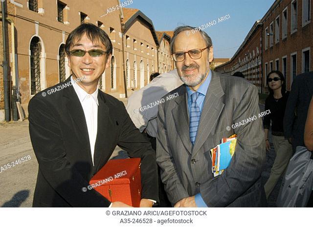Toyo Ito and Alvaro Siza Vieira