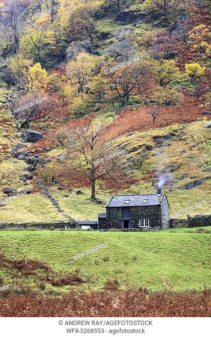 Alisongrass Hoghouse near Stonetwaite in the Lake District National Park