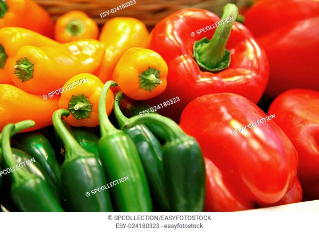 Different paprika