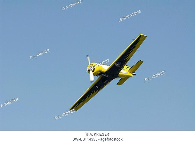 Jakowlew Jak-52. Former Soviet military trainer aircraft, Germany, Saarland