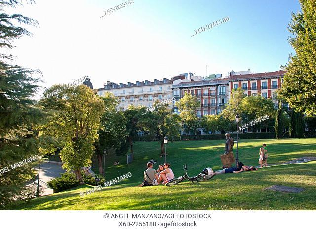 El Prado museum outside, Madrid