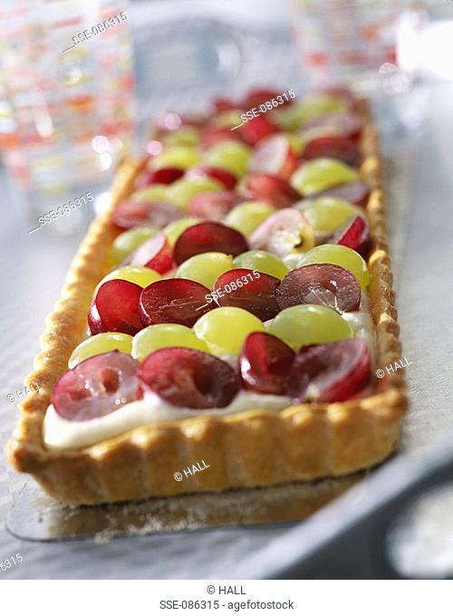 grape tart