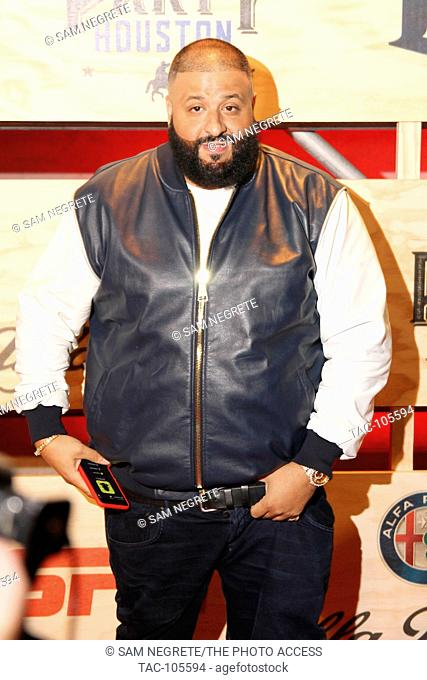DJ Khaled attends ESPN: The Party 2017 on February 3, 2017 in Houston, Texas
