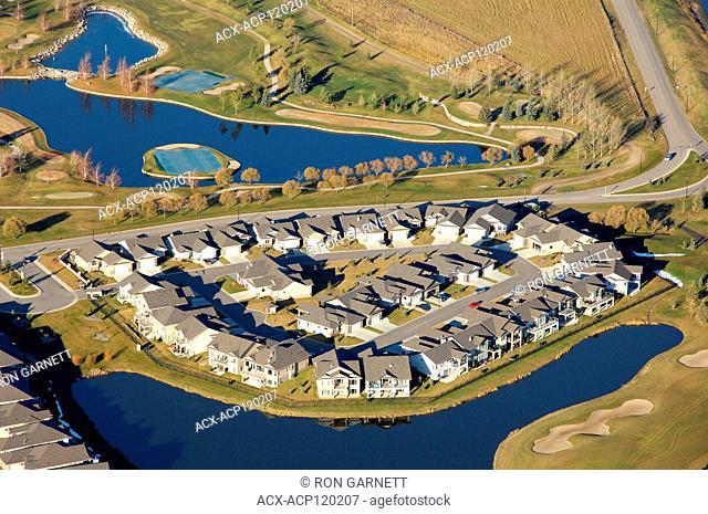 aerial, The Willows Saskatoon, Saskatchewan