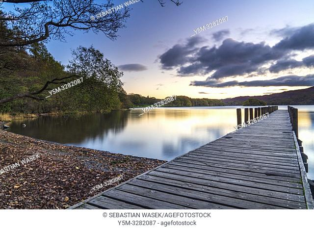 Coniston Water, Coniston, Lake District National Park, Cumbria, England, UK, Europe