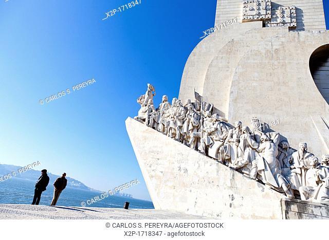 Padrão dos Descobrimentos, Monument to the Discoveries, celebrating Henri the Navigator and the Portuguese Age of Discovery and Exploration, Belem district