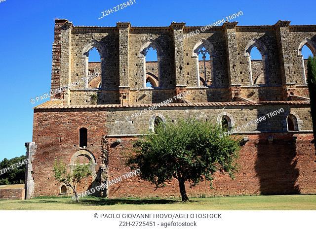 San Galgano, Chiusdino, Siena, Tuscany, Italy, Europe