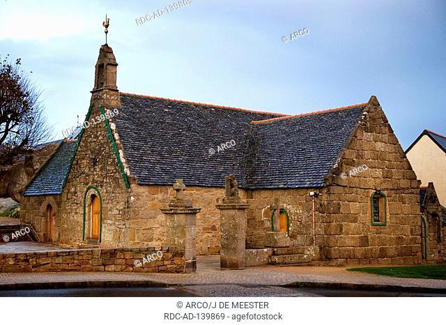 Chapel St-Anne Tregastel Cotes d'Amor Brittany France Sainte-Anne