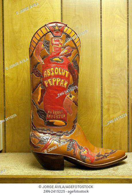 Boots pattern, San Antonio, Texas