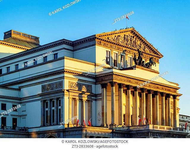 Poland, Masovian Voivodeship, Warsaw, Grand Theatre and National Opera