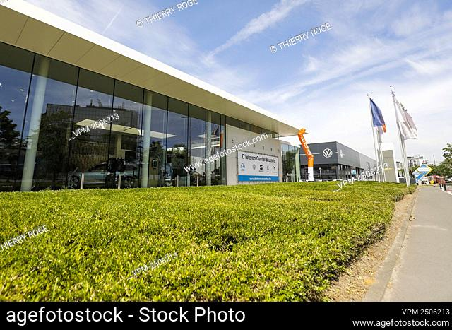 Illustration picture shows a D'ieteren garage in Brussels, Tuesday 02 June 2020. D'Ieteren group announced earlier today with a possible cut of 211 jobs