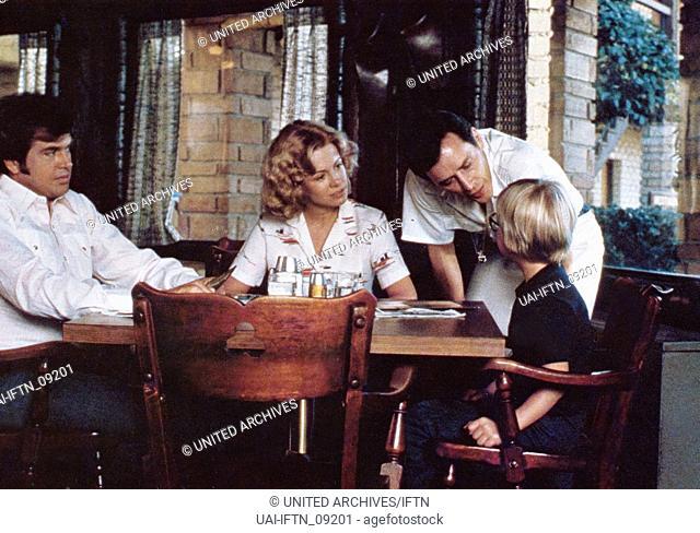Death Valley, USA 1982, Regie: Dick Richards, Darsteller: (v. l.) Paul Le Mat, Catherine Hicks, Steven McHattie, Peter Billingsley
