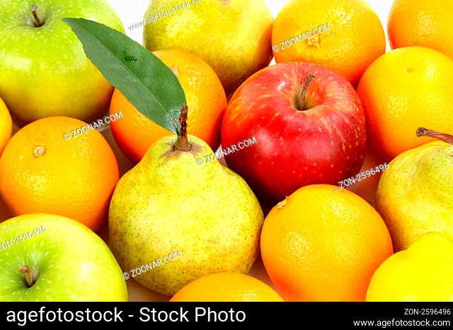 Composition from various fresh exotic fruit