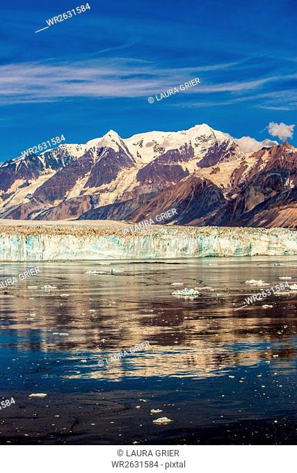 Cruising through Glacier Bay National Park, Alaska, United States of America, North America