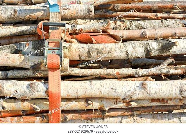 Stacked Wood with Belt