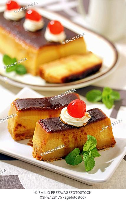 Nougat pudding