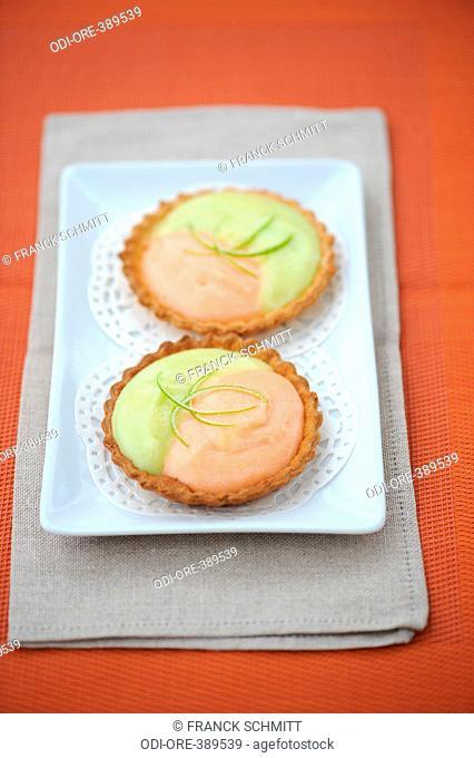 Citrus fruit tartlets