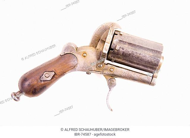 Lefaucheux gun from 1900 cetury