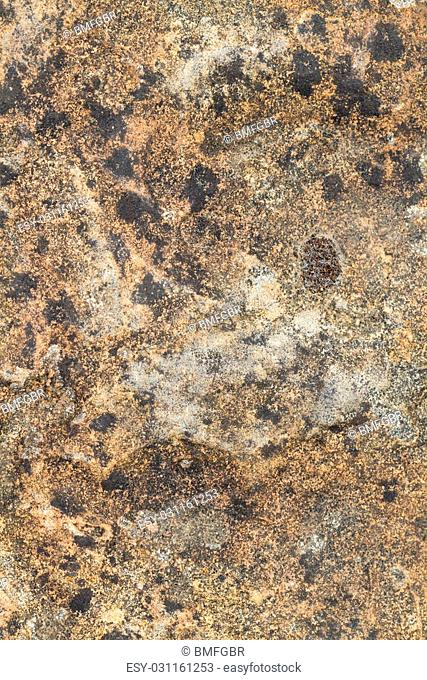 macro picture from a detail of a granite plate