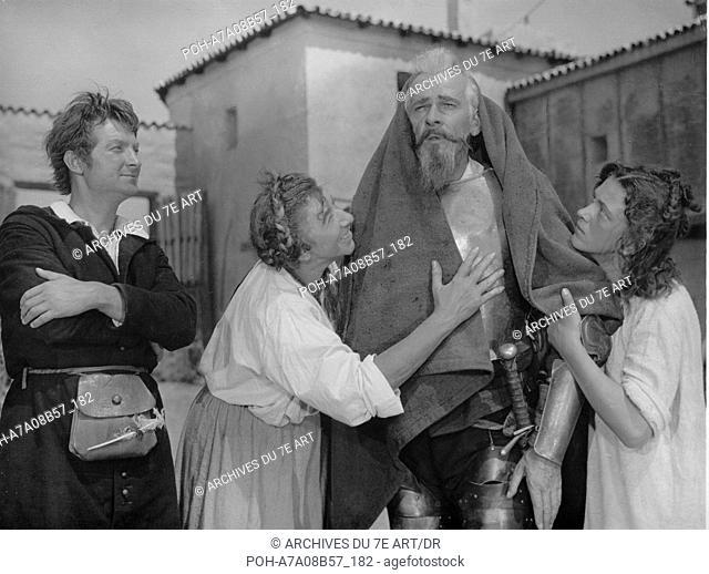 Don Quichotte Don Kikhot (1957) Soviet Union Yuri Tolubeyev, Nikolai Cherkasov  Director: Grigori Kosintsev. WARNING: It is forbidden to reproduce the...