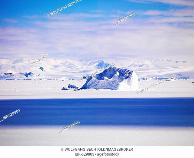 Iceberg in Cape Washington, Ross Sea, Antarctic