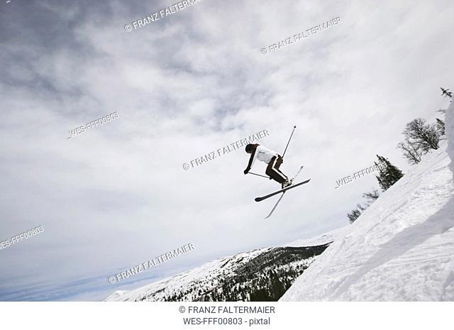 Norway, Rondane National Park, Norway, Rondane National Park, Skier jumping