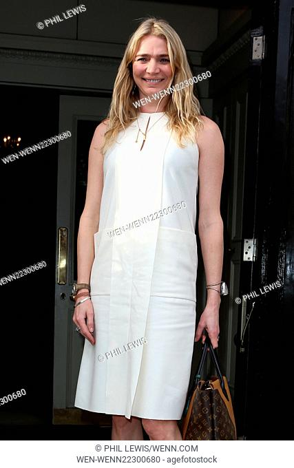 Celebs attend Mothers2mothers VIP Mother's Day Tea at Morton's, Berkeley Square, London Featuring: Jodie Kidd Where: London