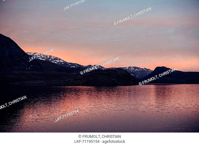 View on the nature of Greenland, greenland, arctic