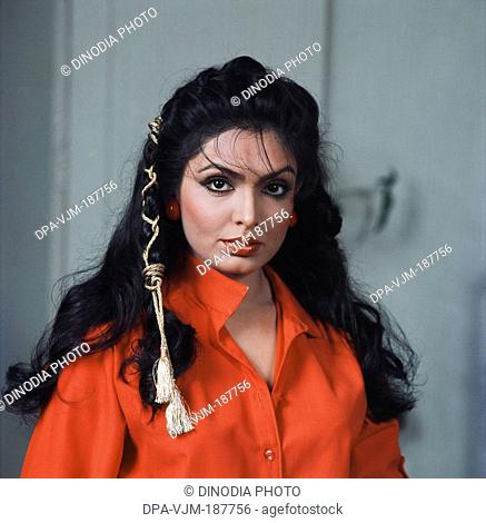 1982, Portrait of Indian film actress Praveen Babi