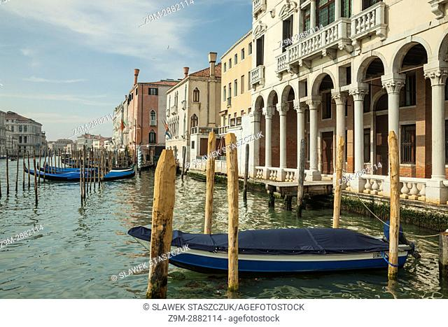 Afternoon on Grand Canal in Venice