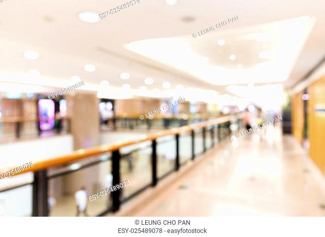 Store blurred background