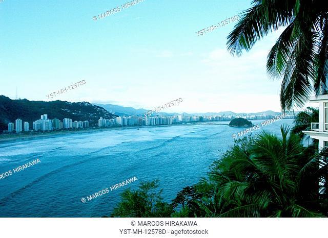 Beach of Itararé, Santos, São Vicente, São Paulo, Brazil