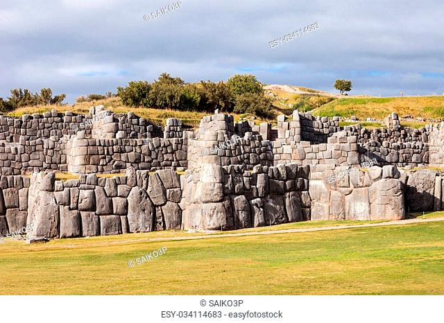 Saksaywaman is a citadel in Cusco, Peru. It is the historic capital of the Inca Empire