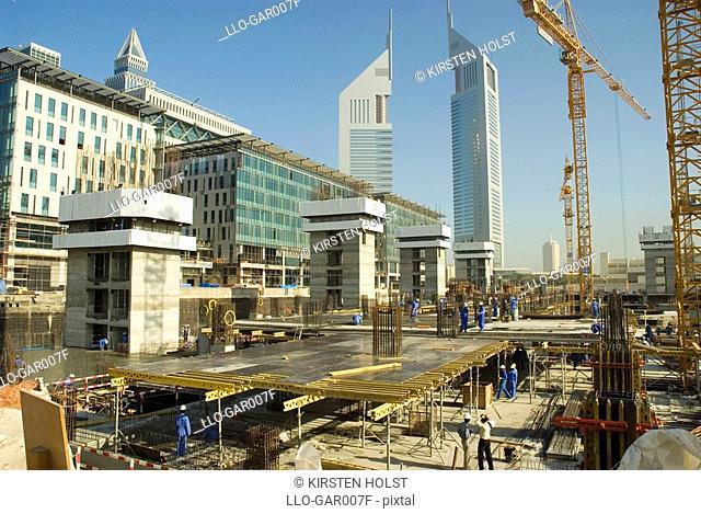 Construction Site  Dubai, United Arab Emirates