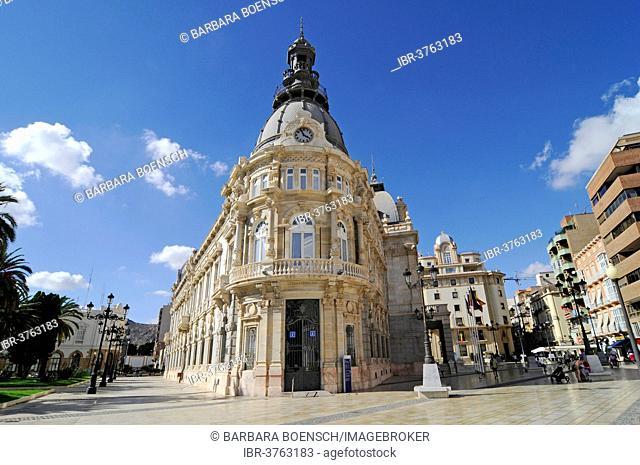 Town Hall, Town Hall Square, Cartagena, Murcia Region, Spain