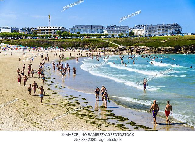 A Rapadoira beach. Foz, A Mariña country, Lugo, Galicia, Spain, Europe