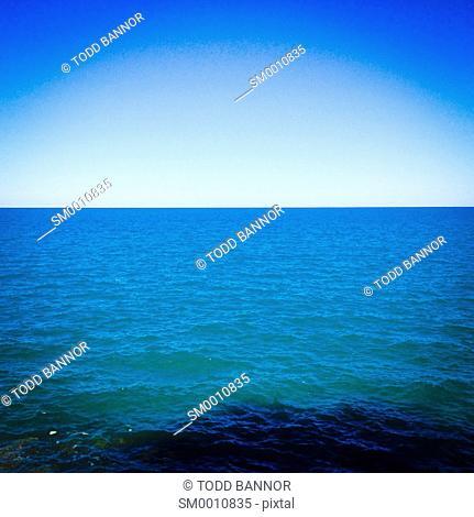 Lake Michigan horizon