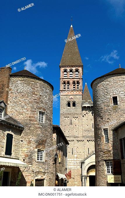France, Burgundy, Tournus, church of Saint Philibert