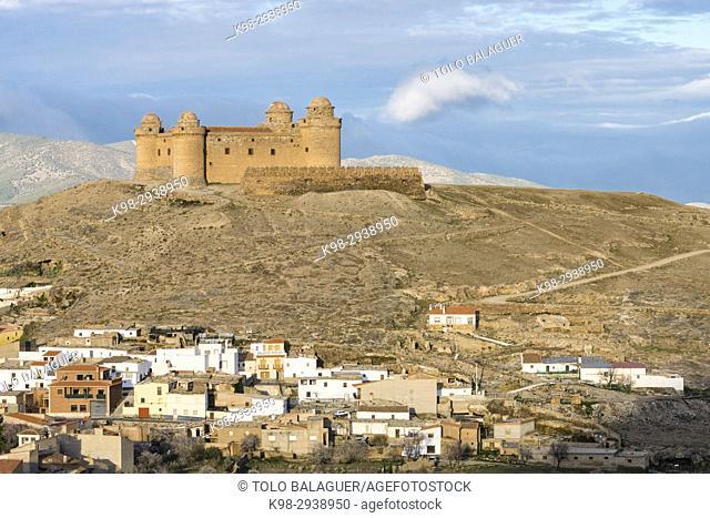 castillo de La Calahorra, marquesado del Cenete, municipio de La Calahorra, provincia de Granada, comunidad autónoma de Andalucía, Spain