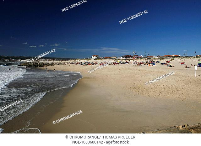 dunes on the atlantic coast of portugal the beach at figueira da foz portugal atlantic europe