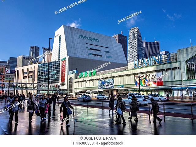Japan , Tokyo City, Shinjuku District, Shinjuku Station South