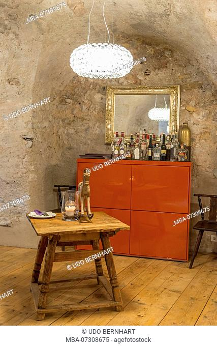 Restaurant Taberna Romani, Tramin, South Tyrolean Wine Route, South Tyrol, Italy