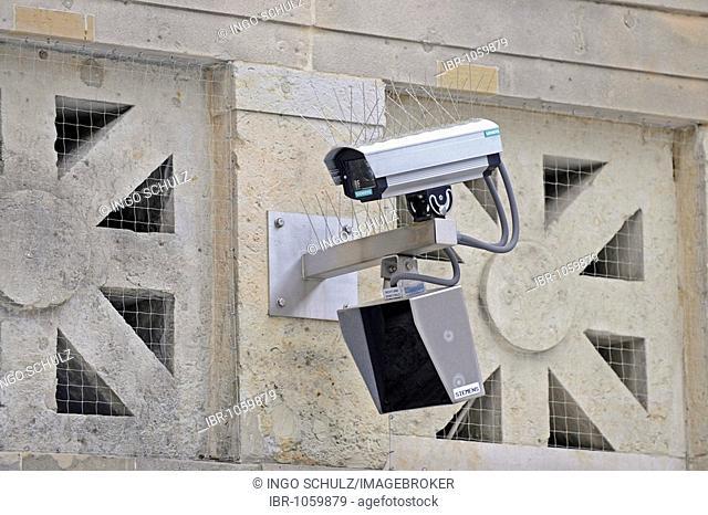 SUrveillance camera with passive infra-red sensor