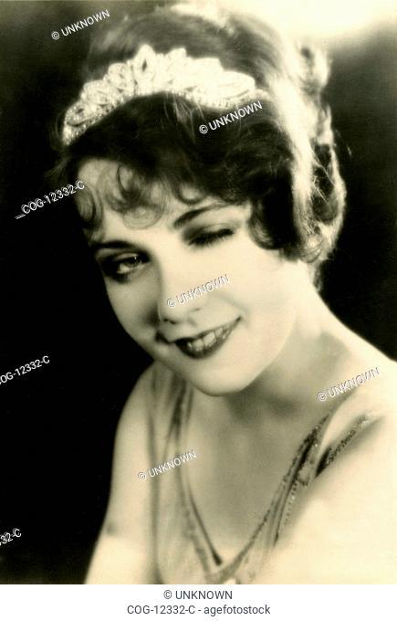 The actress Anita Page